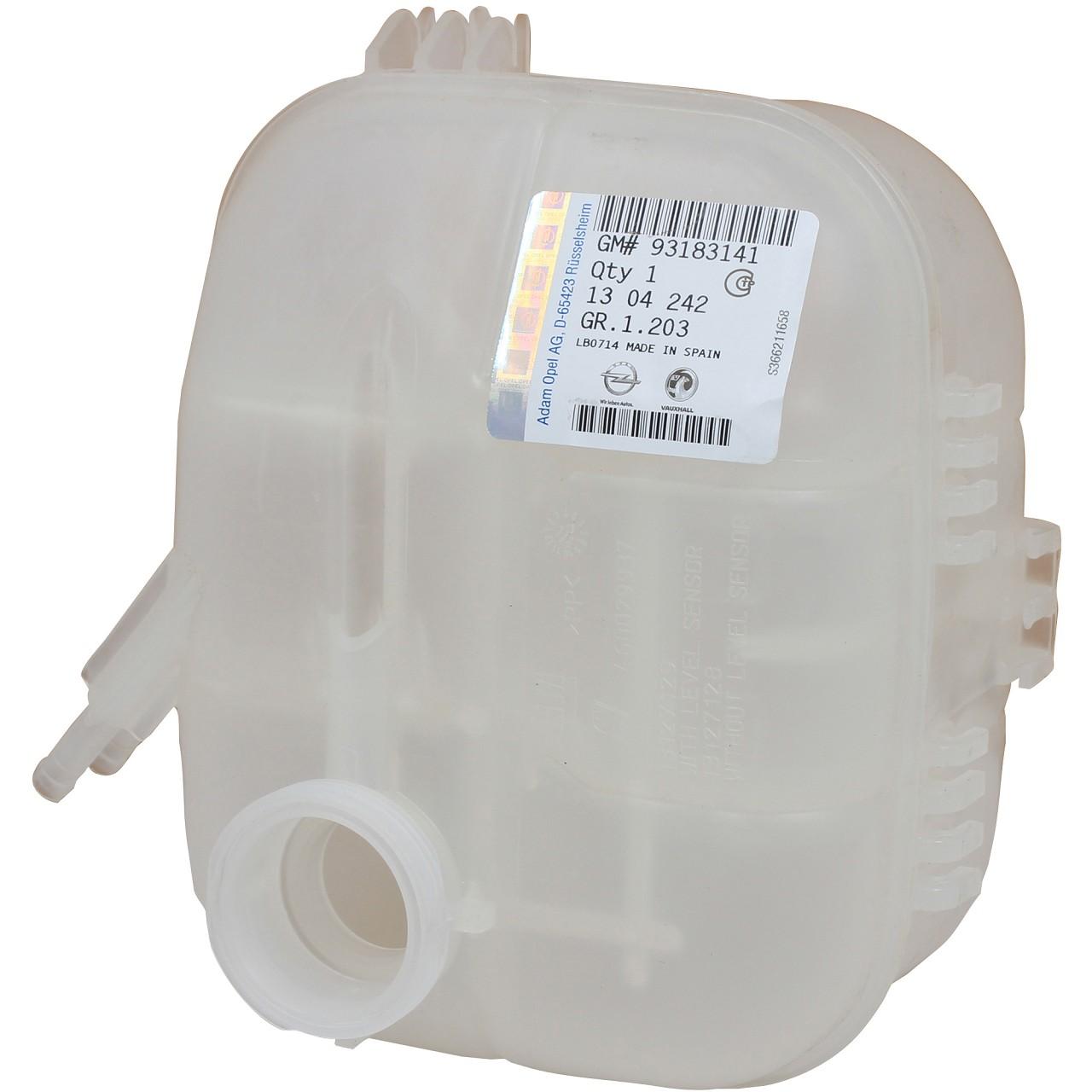 ORIGINAL GM Opel Ausgleichsbehälter Kühlmittelbehälter ZAFIRA B 1304242