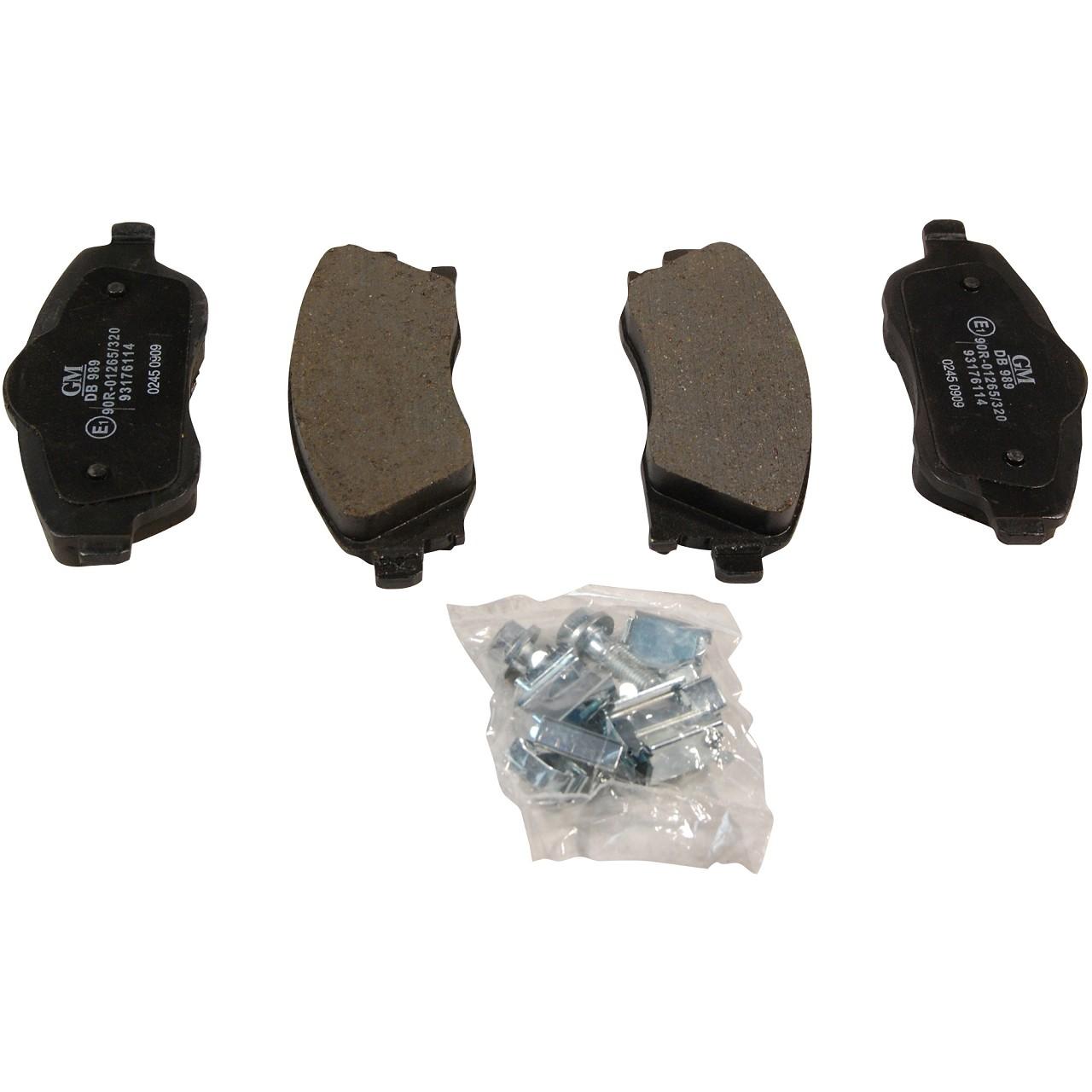 ORIGINAL Opel Bremsen Kit Bremsscheiben + Bremsbeläge CORSA C (X01) vorne