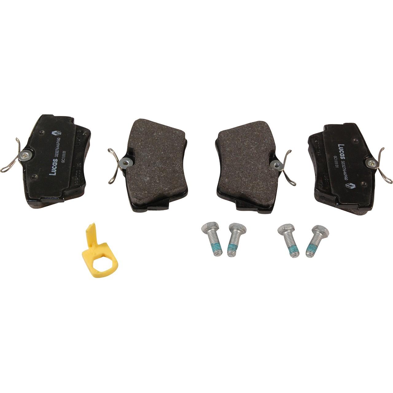 ORIGINAL GM Opel Bremsscheiben + Radlager + Bremsbeläge VIVARO A (X83) hinten