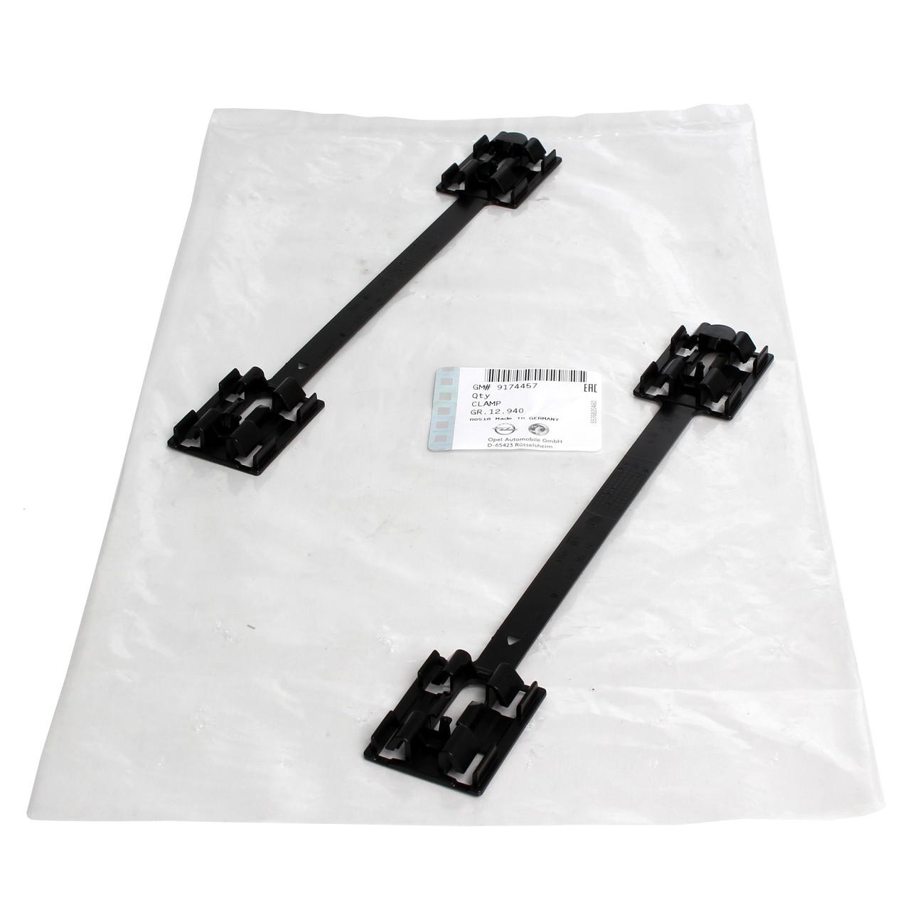2x ORIGINAL Opel Clip Plastik Halter Klammer Verschluss Befestigung 9174457