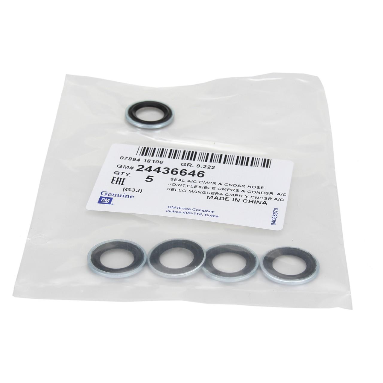 ORIGINAL Opel Dichtung 6850803 Dichtring Kältemittelleitung (1 Stück) 24436646
