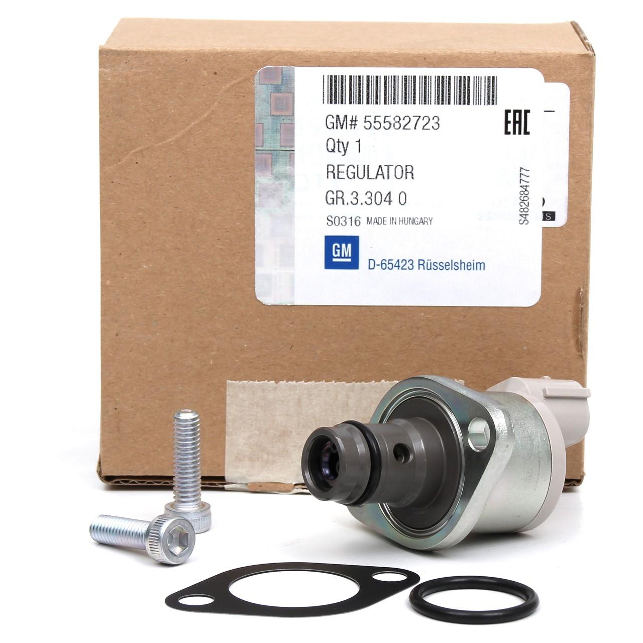 ORIGINAL Opel Zumesseinheit Druckregler Einspritzpumpe Druckregelventil 819713