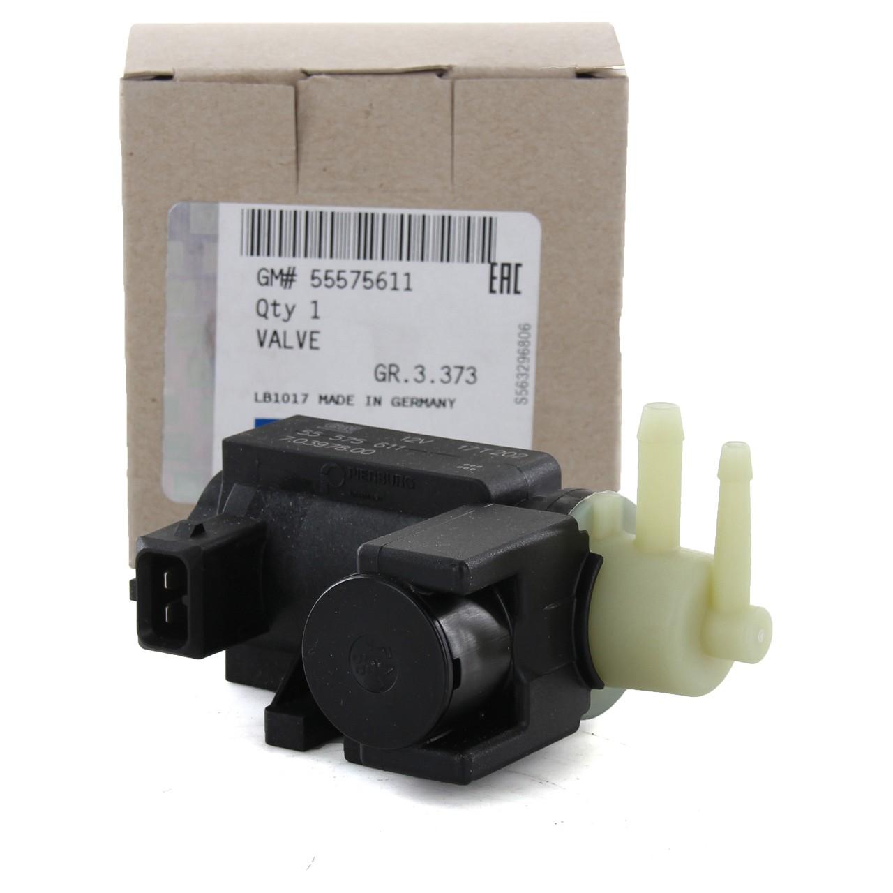 ORIGINAL GM Opel Unterdrucksensor Druckwandler Magnetventil Turbolader 55575611