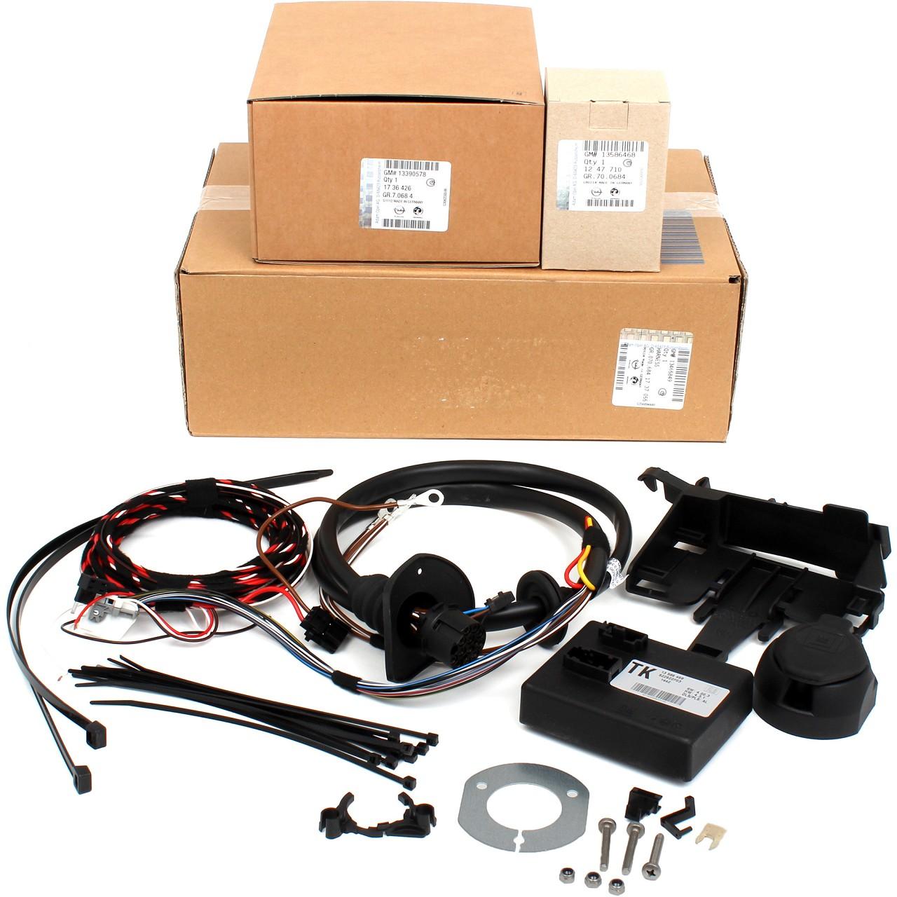 ORIGINAL GM Opel E-Satz Kabelsatz Anhängerkupplung ASTRA J 13-polig 1737055