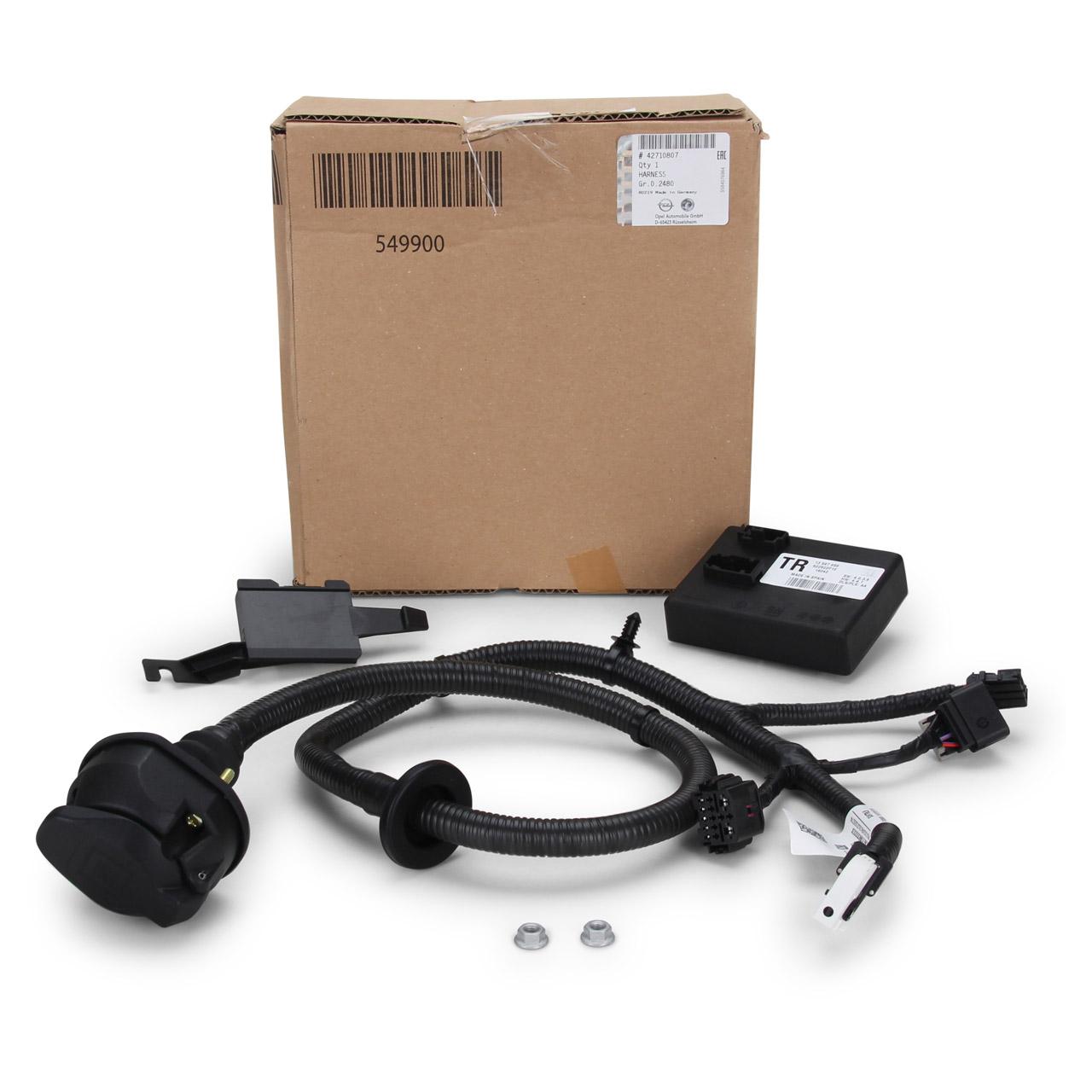 ORIGINAL Opel E-Satz Kabelsatz Anhängerkupplung MOKKA / MOKKA X 13-pol 42710807
