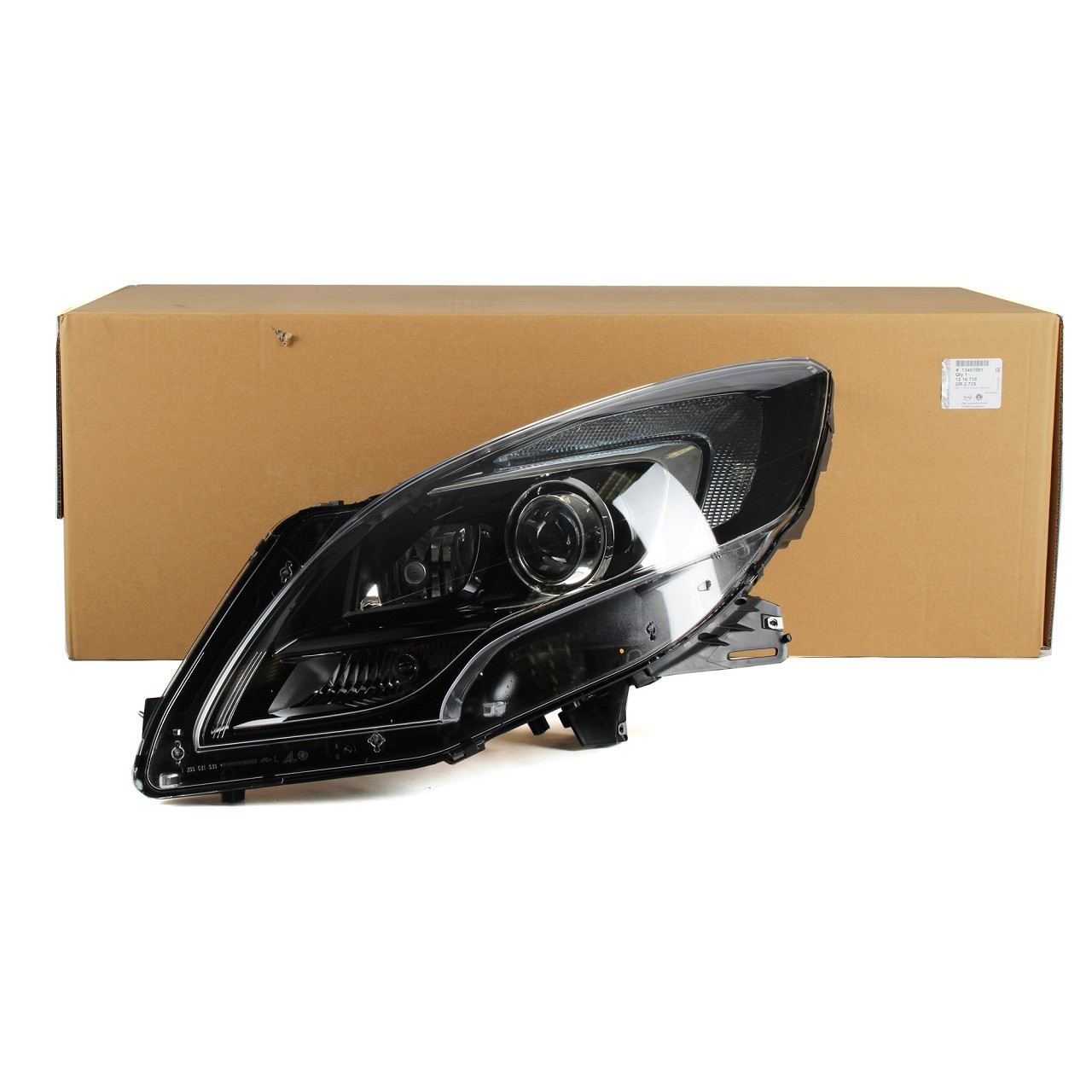 ORIGINAL Opel Scheinwerfer BI-XENON für ZAFIRA TOURER C links 1216718 13401001