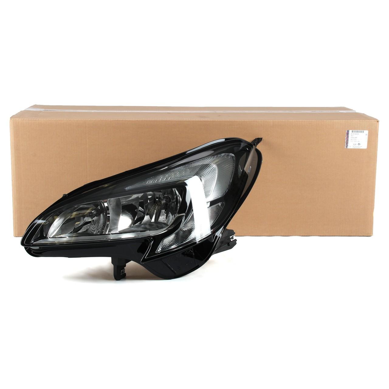 ORIGINAL Opel Scheinwerfer Frontscheinwerfer HALOGEN für CORSA E links 39108226