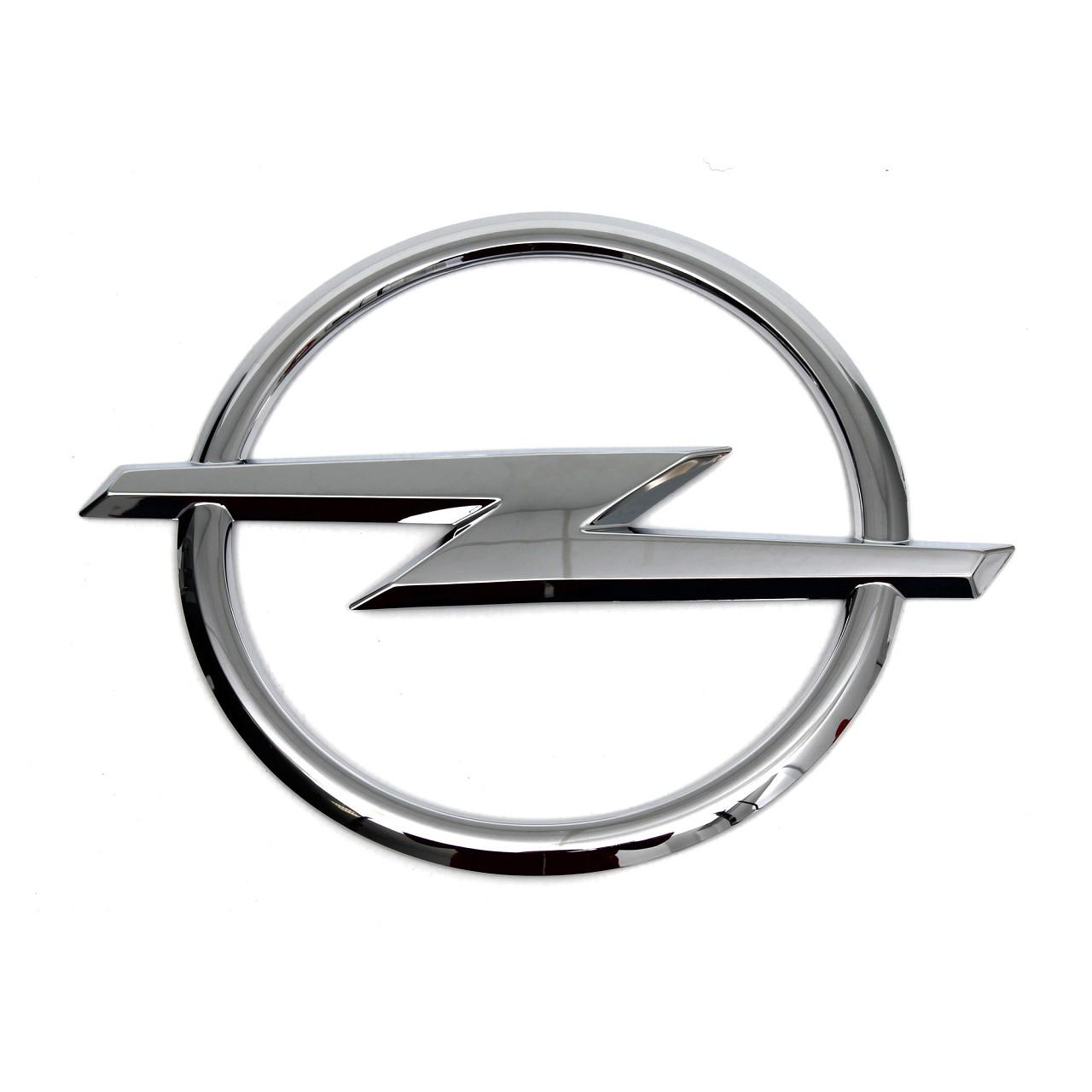 ORIGINAL GM GM Opel Emblem Logo Blitz Heckklappe ASTRA H ZAFIRA B 93182916