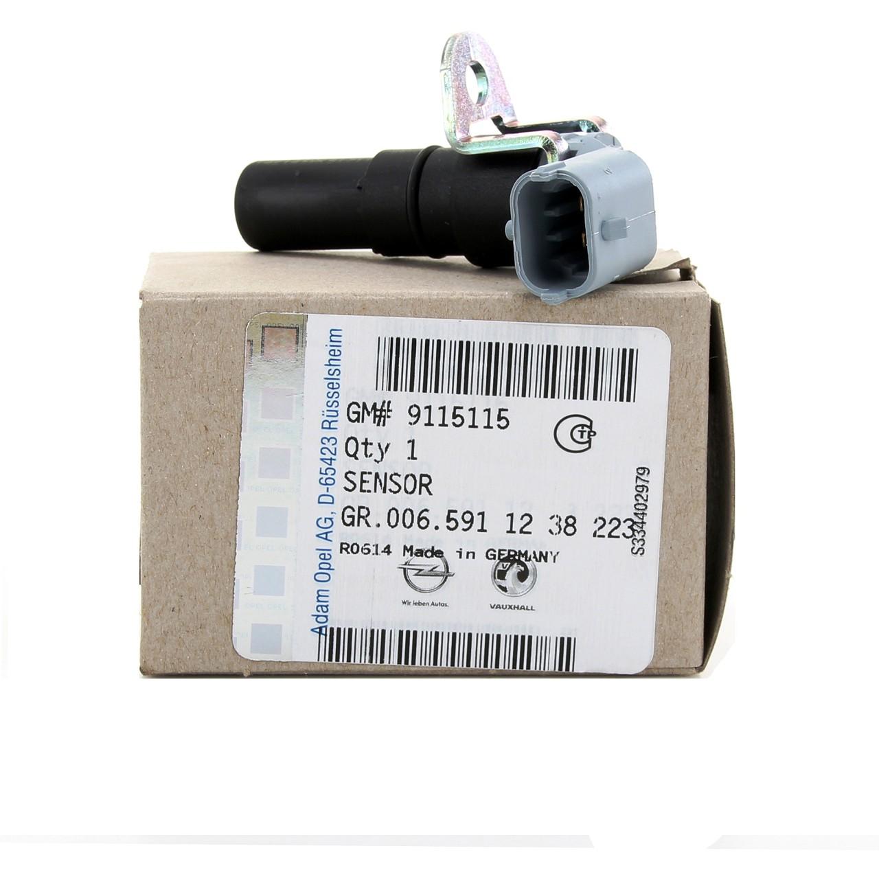 ORIGINAL GM Opel Kurbelwellensensor Sensor Kurbelwelle 1238223