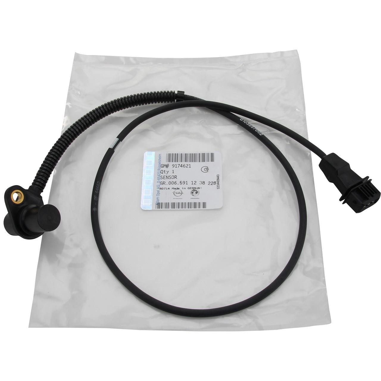 ORIGINAL OPEL Kurbelwellensensor Sensor Kurbelwelle Impulsgeber OT-Geber 1238228