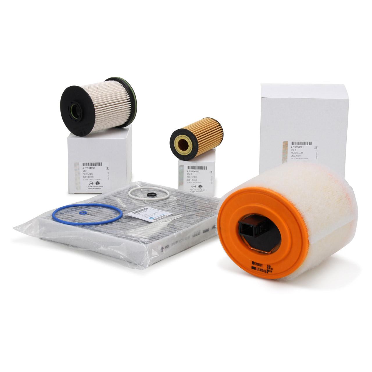 ORIGINAL GM Opel Inspektionskit Filterpaket Filterset ASTRA K 1.6 CDTi 95-160 PS