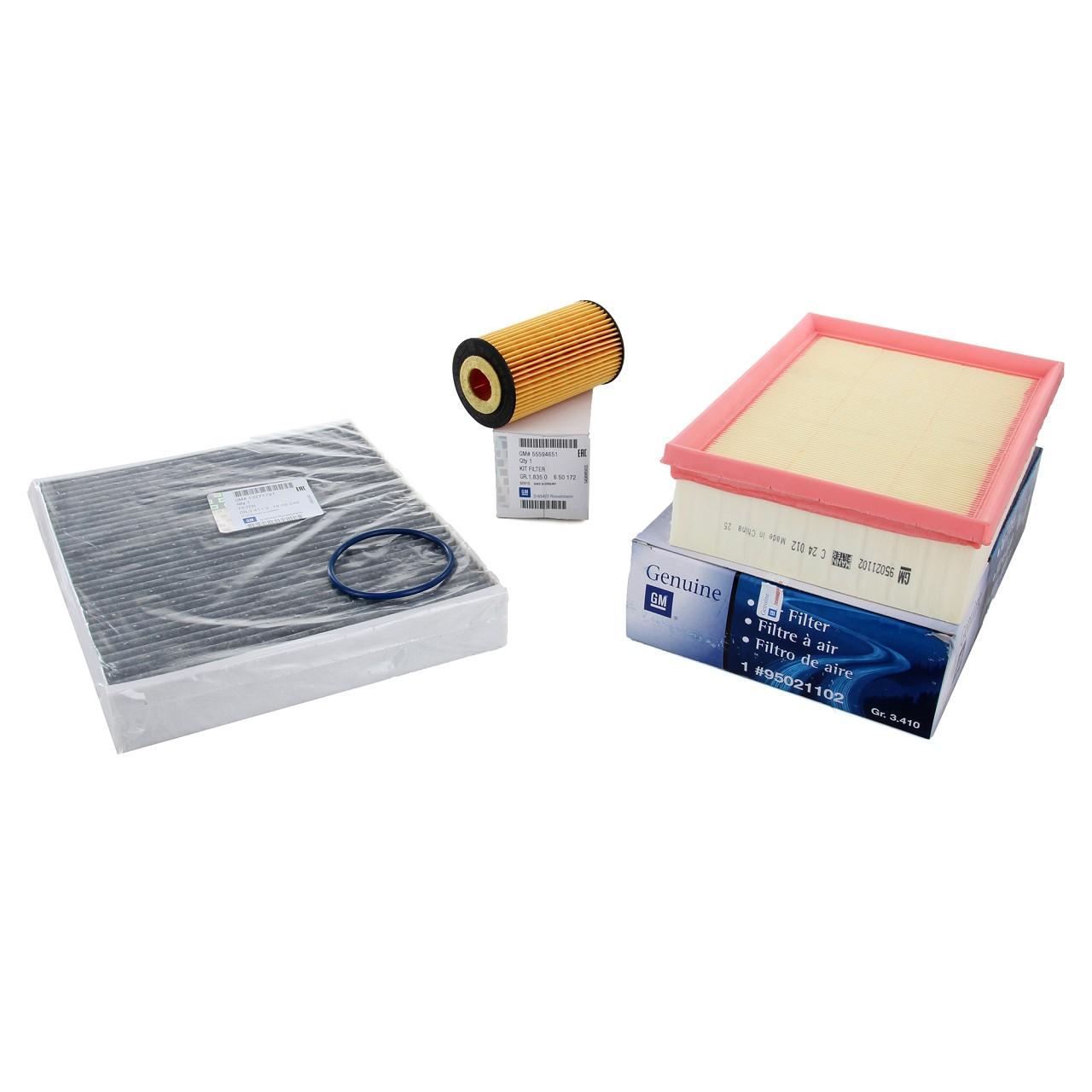 ORIGINAL Opel Inspektionskit Filterpaket MOKKA / MOKKA X 1.4 140 PS + 1.6 116 PS