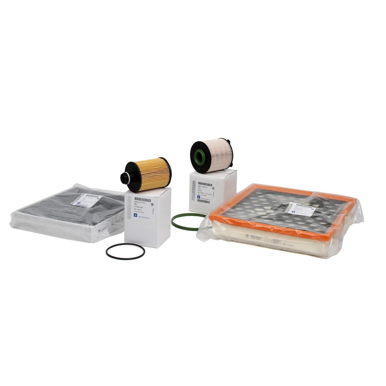 ORIGINAL GM Opel Inspektionskit Filterpaket INSIGNIA A 2.0 CDTI 110-163 PS