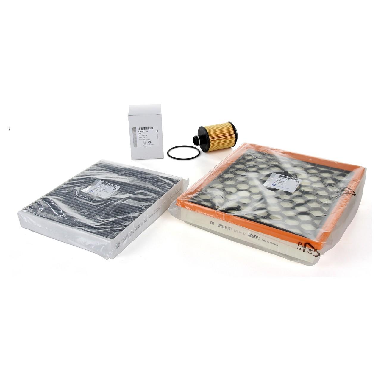 ORIGINAL GM Opel Inspektionskit Filterpaket Filterset INSIGNIA 2.0CDTI 110-160PS