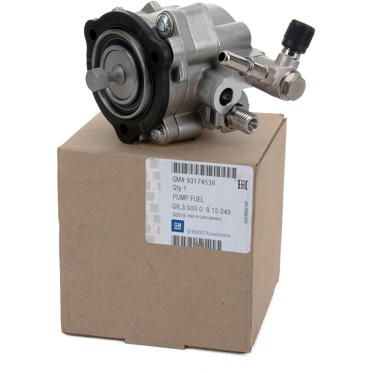 ORIGINAL GM Opel Kraftstoffpumpe Hochdruckpumpe Benzinpumpe Z22YH 93174538