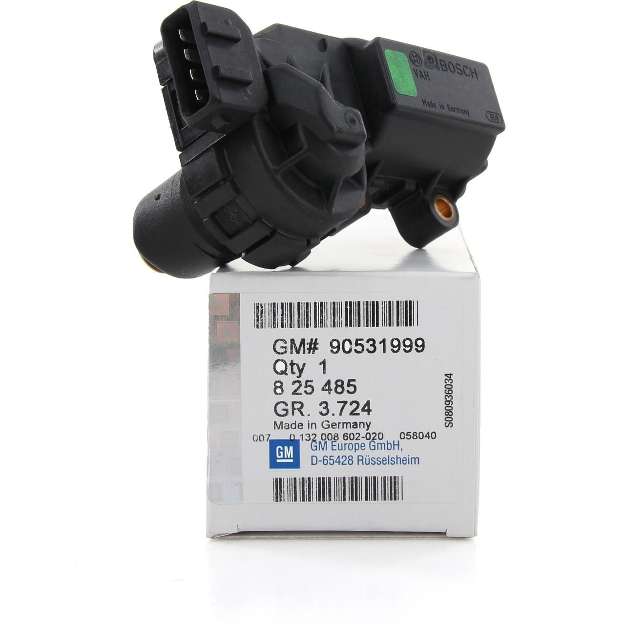 ORIGINAL GM OPEL Leerlaufregler Leerlaufventil ASTRA G CORSA B 1.2i 16V 825485