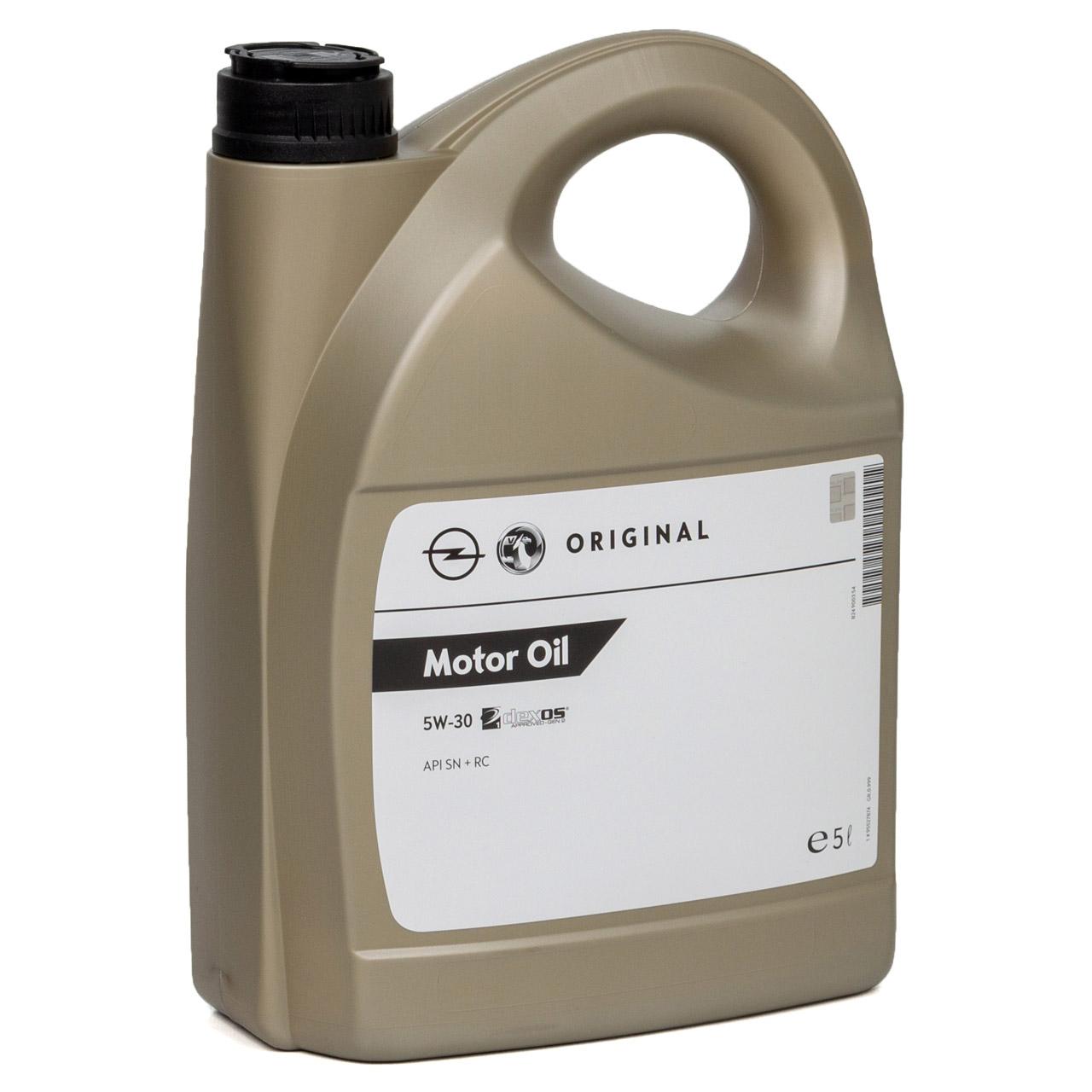 ORIGINAL GM Opel Motoröl ÖL 5W30 5W-30 DEXOS1 Gen2 LONGLIFE 5L 5 Liter 95527874