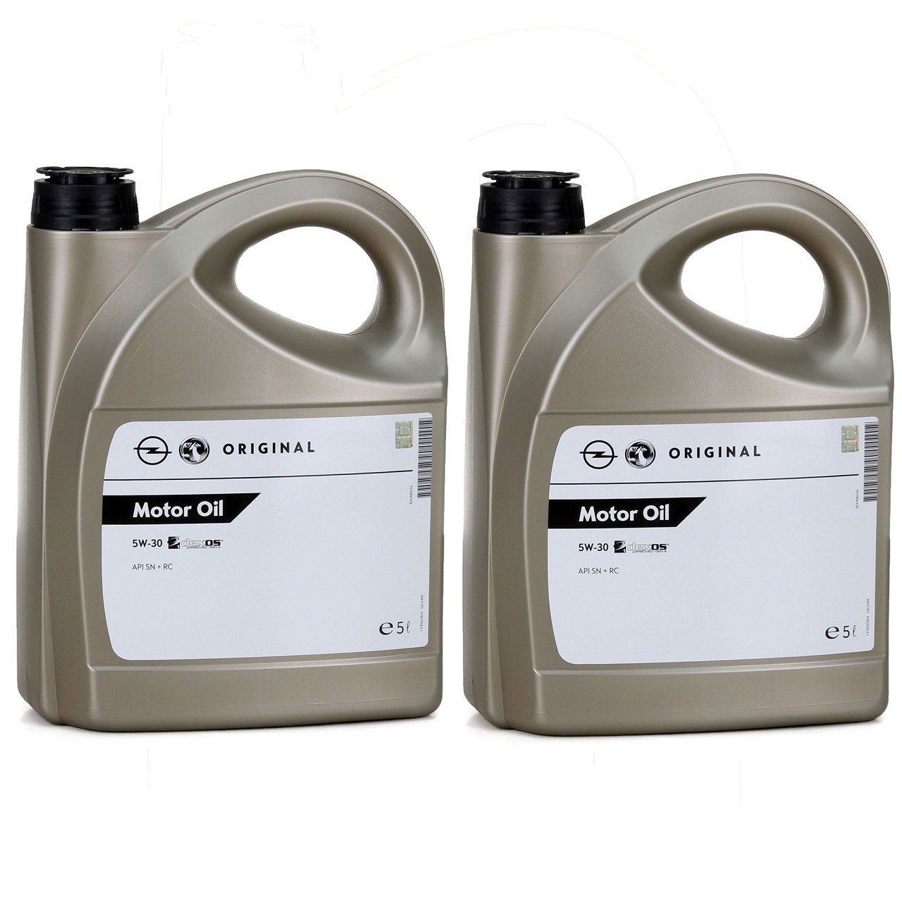 2x 5L 5 Liter ORIGINAL Opel Motoröl ÖL 5W30 5W-30 DEXOS1 Gen2 LONGLIFE 95527874