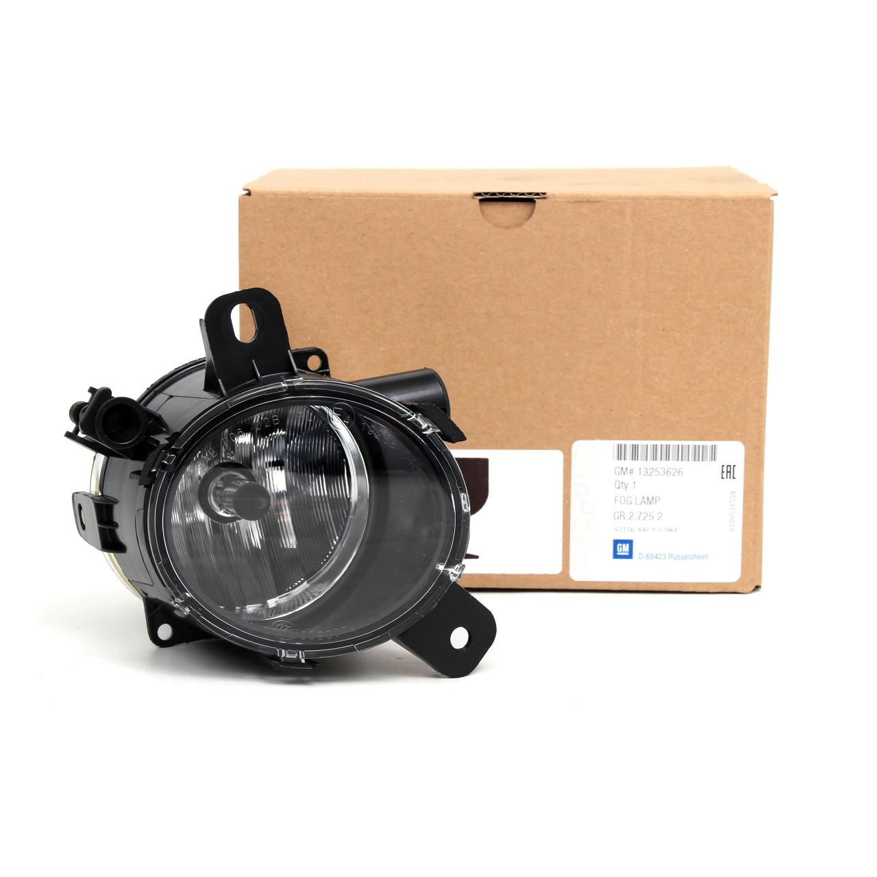 ORIGINAL GM Opel Nebelscheinwerfer VORNE RECHTS 13253626 für CORSA D E MERIVA B