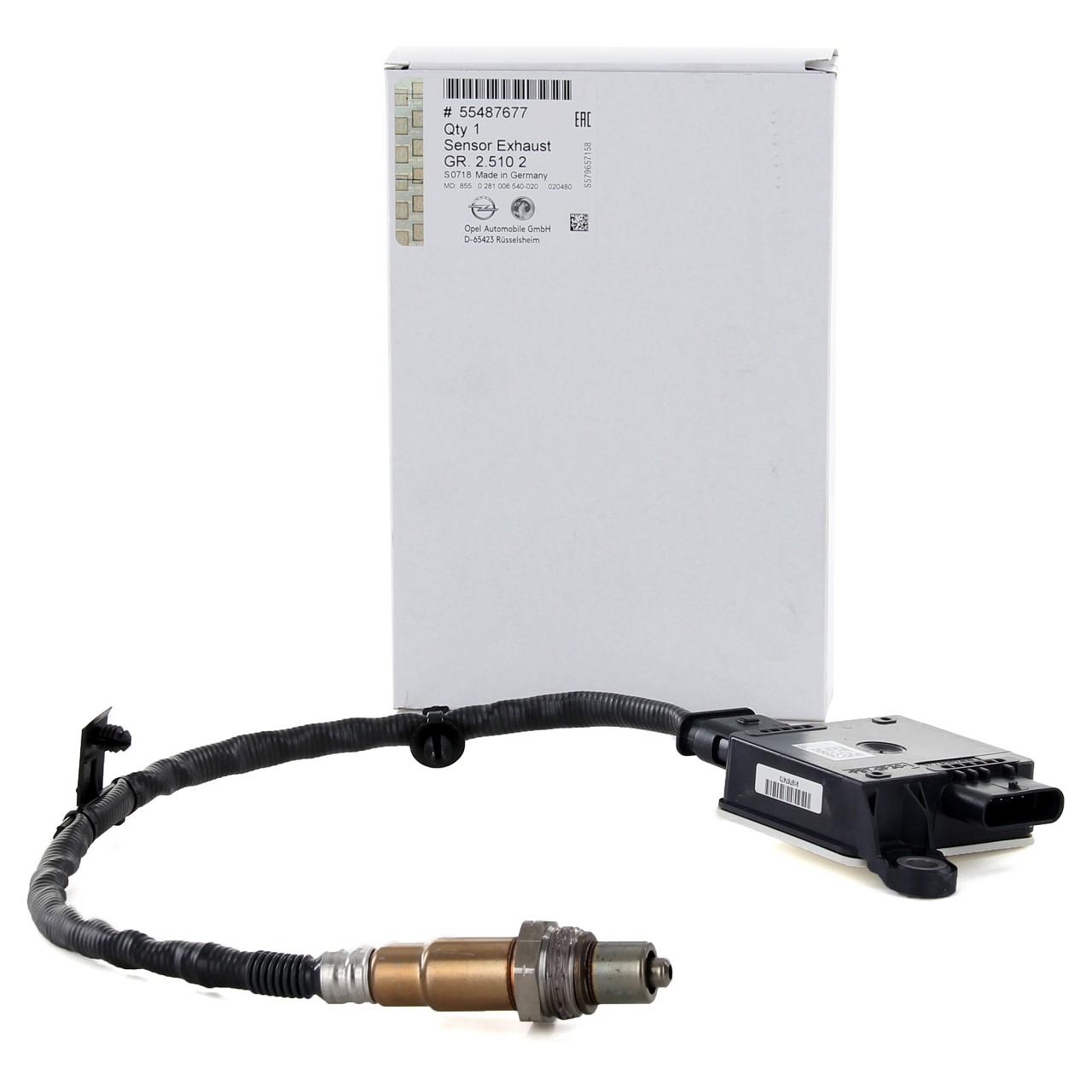 ORIGINAL GM Opel NOx-Sensor Lambdasonde ZAFIRA TOURER C 855608 / 55487677