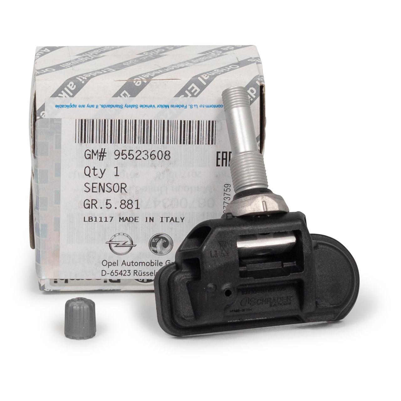 ORIGINAL Opel RDKS Reifendrucksensor Luftdrucksensor 16 Zoll COMBO X12 95523608