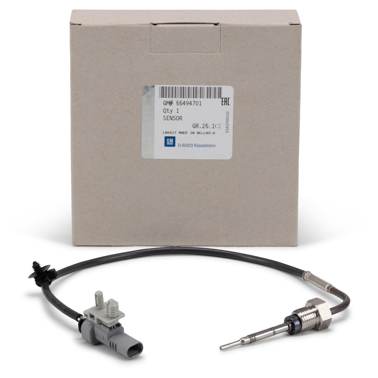 ORIGINAL Opel Abgastemperatursensor INSIGNIA A B ZAFIRA C 2.0 CDTi 55494701