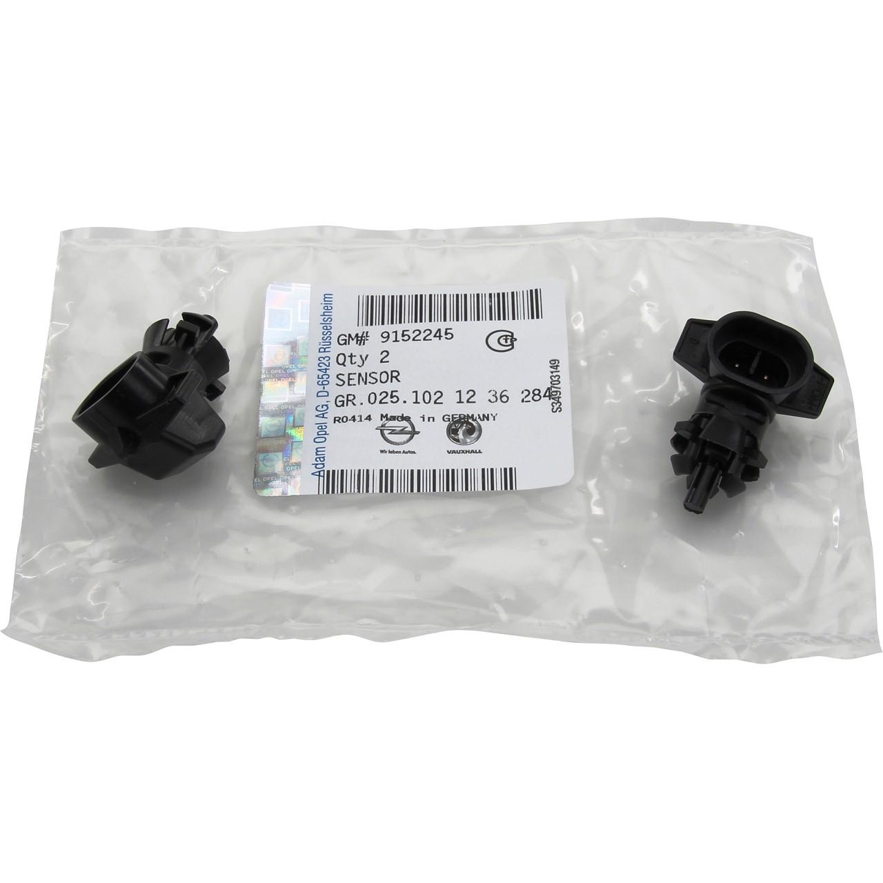 2x ORIGINAL Opel Temperaturgeber Außentemperatur Temperaturfühler Sensor 1236284