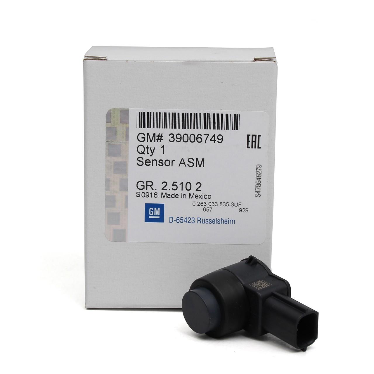ORIGINAL GM Opel Sensor Einparkhilfe Einparksensor Rückfahrsensor 39006749