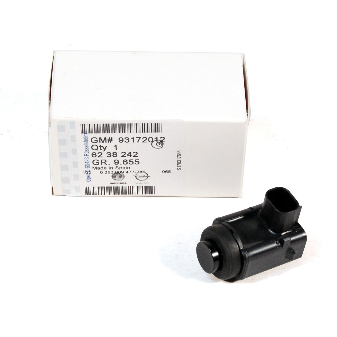 ORIGINAL GM Opel Sensor Einparkhilfe Einparksensor Rückfahrsensor 6238242