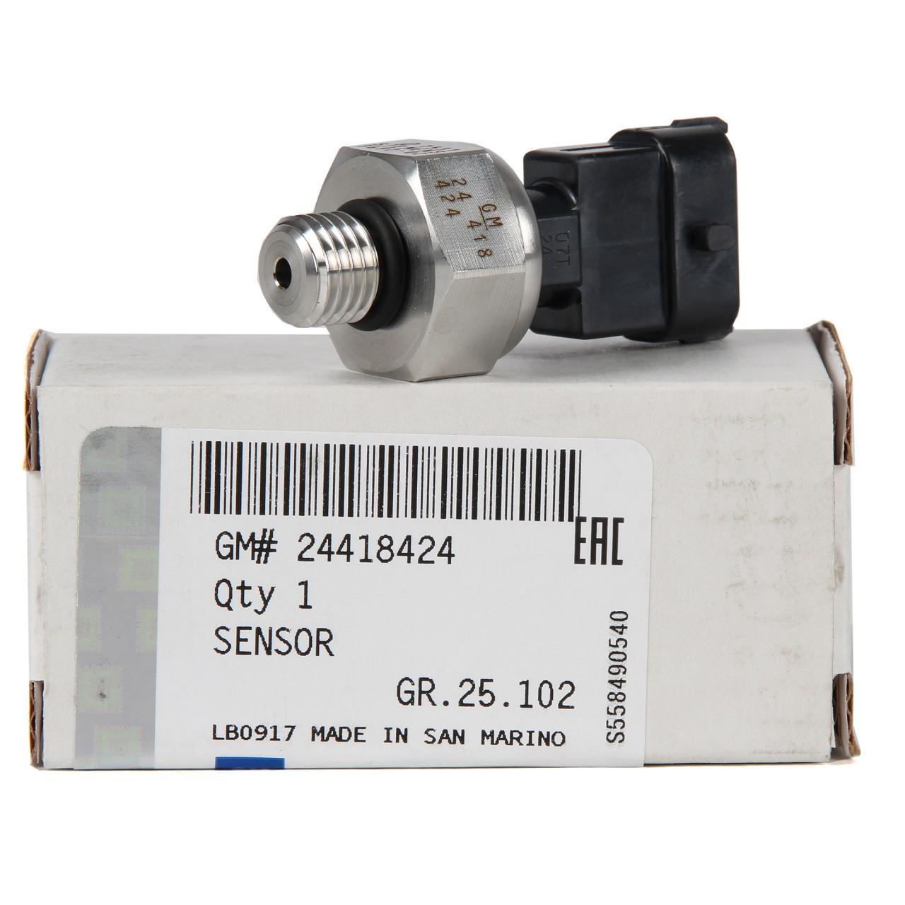 ORIGINAL Opel Kraftstoffdrucksensor SIGNUM VECTRA C ZAFIRA B 2.2 24418424