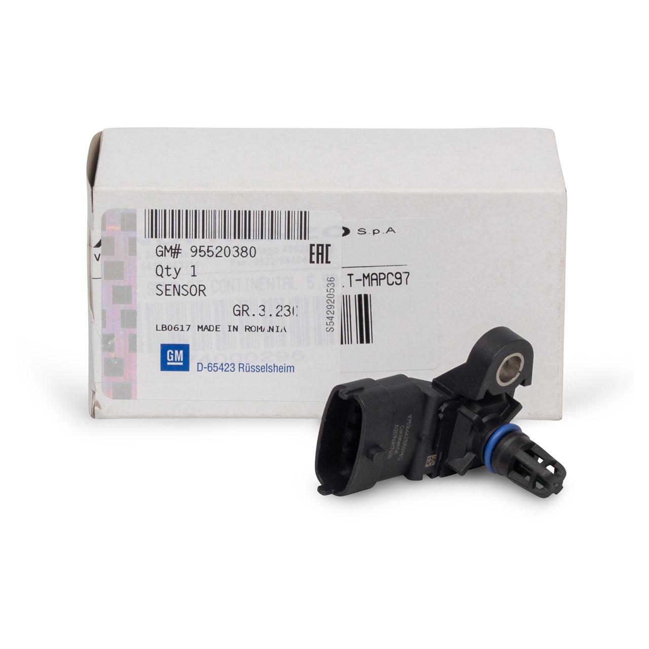 ORIGINAL Opel Sensor Kraftstoffdruck ASTRA J INSIGNIA A ZAFIRA C 1.4 95520380