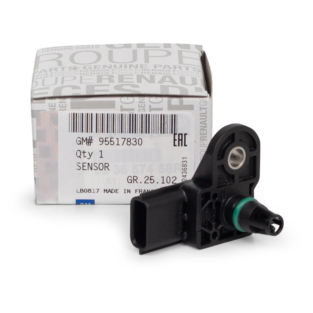 ORIGINAL Opel Saugrohrdruck Ladedruck Unterdrucksensor VIVARO B 1.6 CDTI 95517830