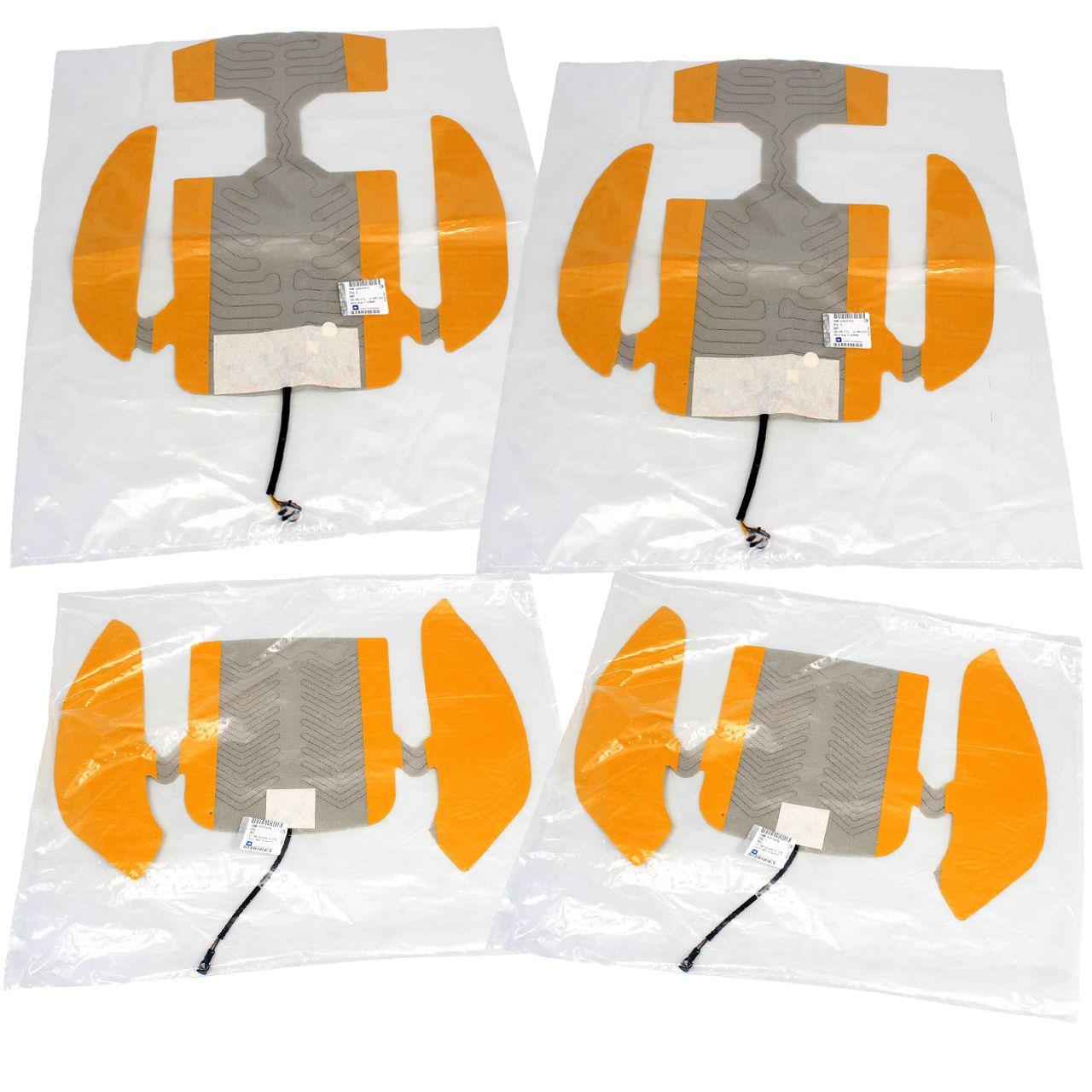4x ORIGINAL Opel Sitzheizung Satz INSIGNIA A G09 Rückenlehne + Sitzfläche vorne