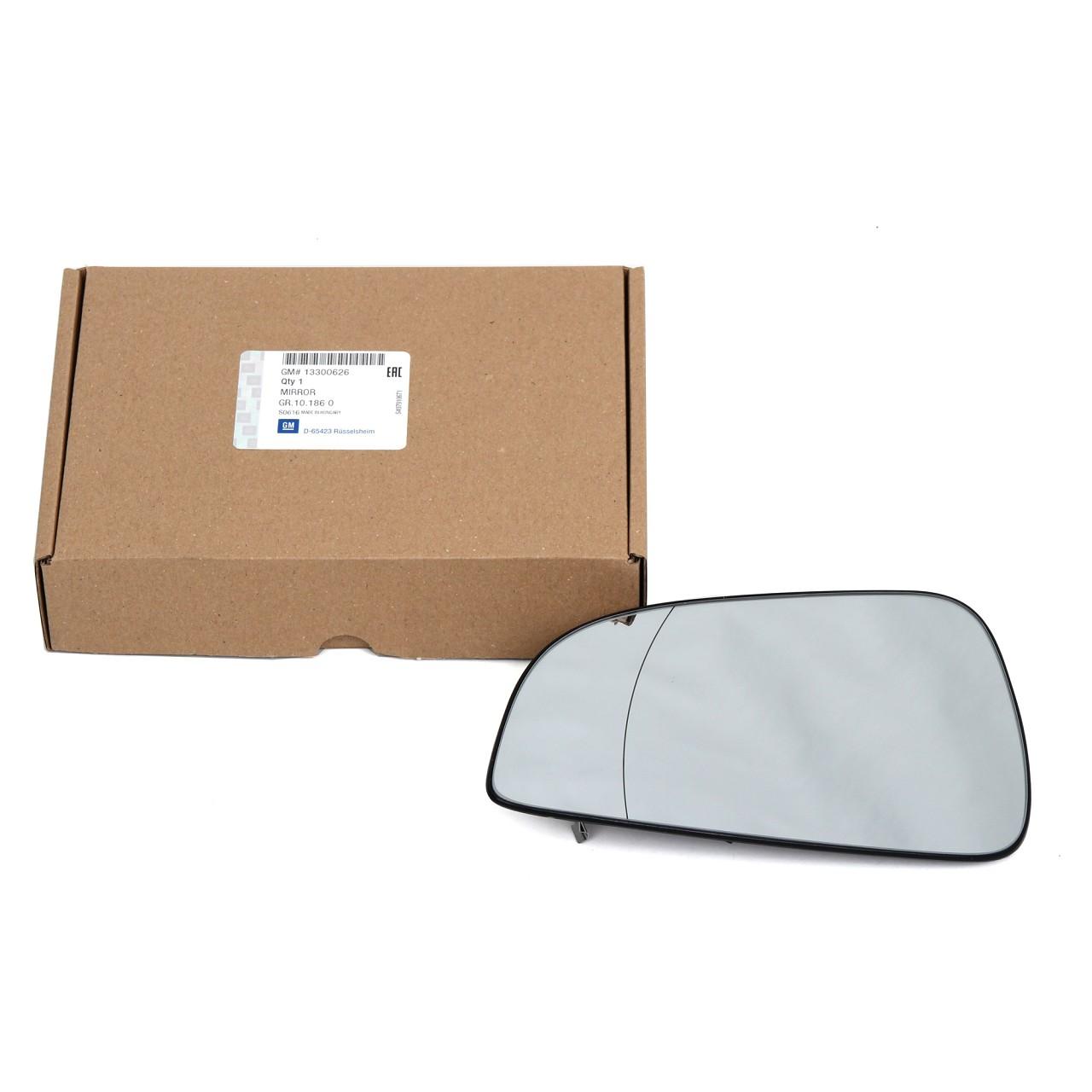 ORIGINAL GM Opel Außenspiegel Spiegelglas ASTRA H links 13300626
