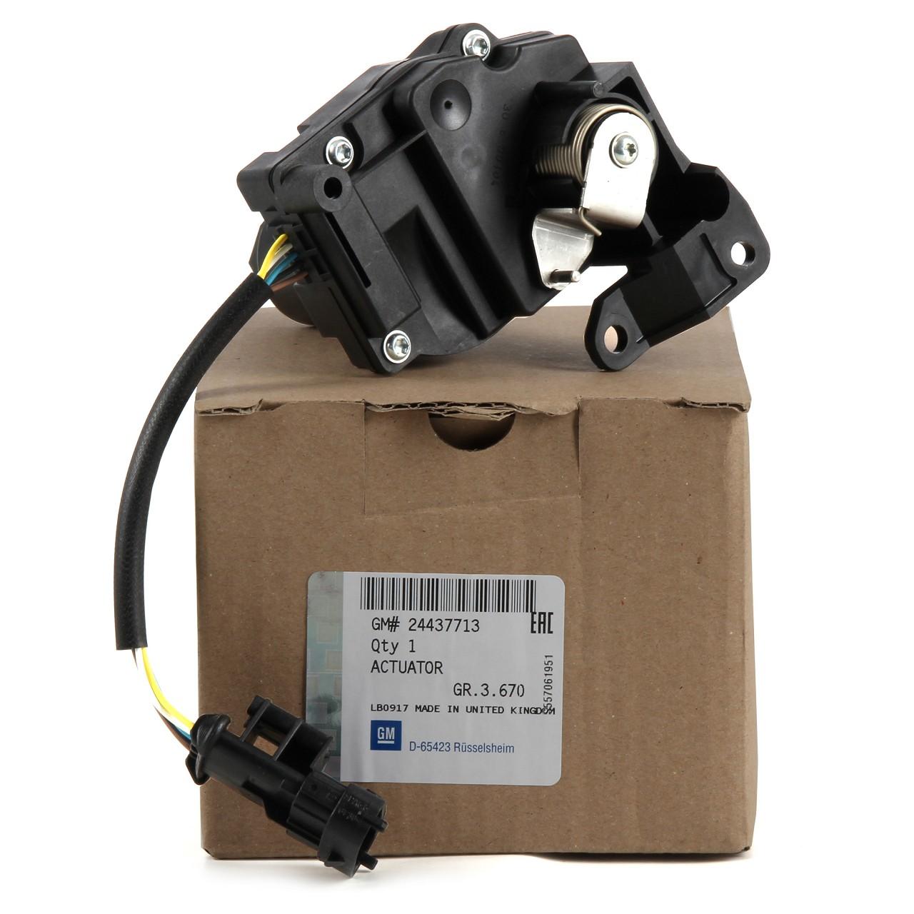 ORIGINAL Opel Rückschlagventil Stellmotor Drallklappen 2.2 direct Z22YH 24437713
