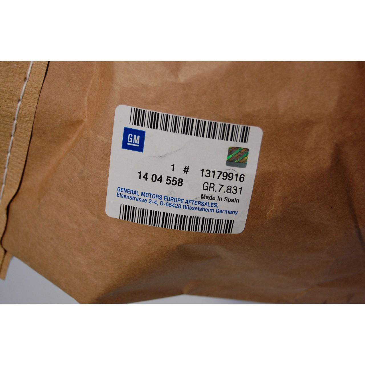 ORIGINAL Opel Stoßstange Stoßfänger CORSA D hinten 1404558 / 13179916