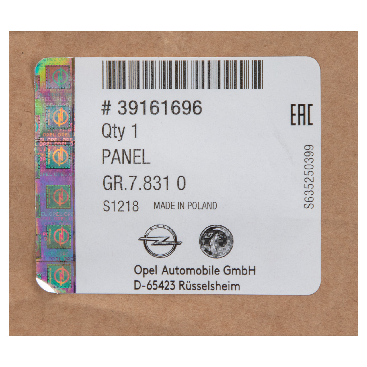 ORIGINAL Opel Stoßstange Stoßfänger HINTEN 13425480 für ASTRA K Schrägheck 5-trg