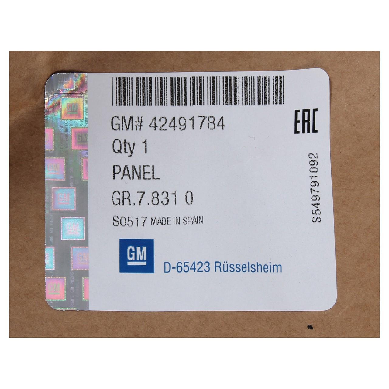 ORIGINAL GM Opel Stoßstange Stoßfänger MOKKA / MOKKA X vorne unten 42491784