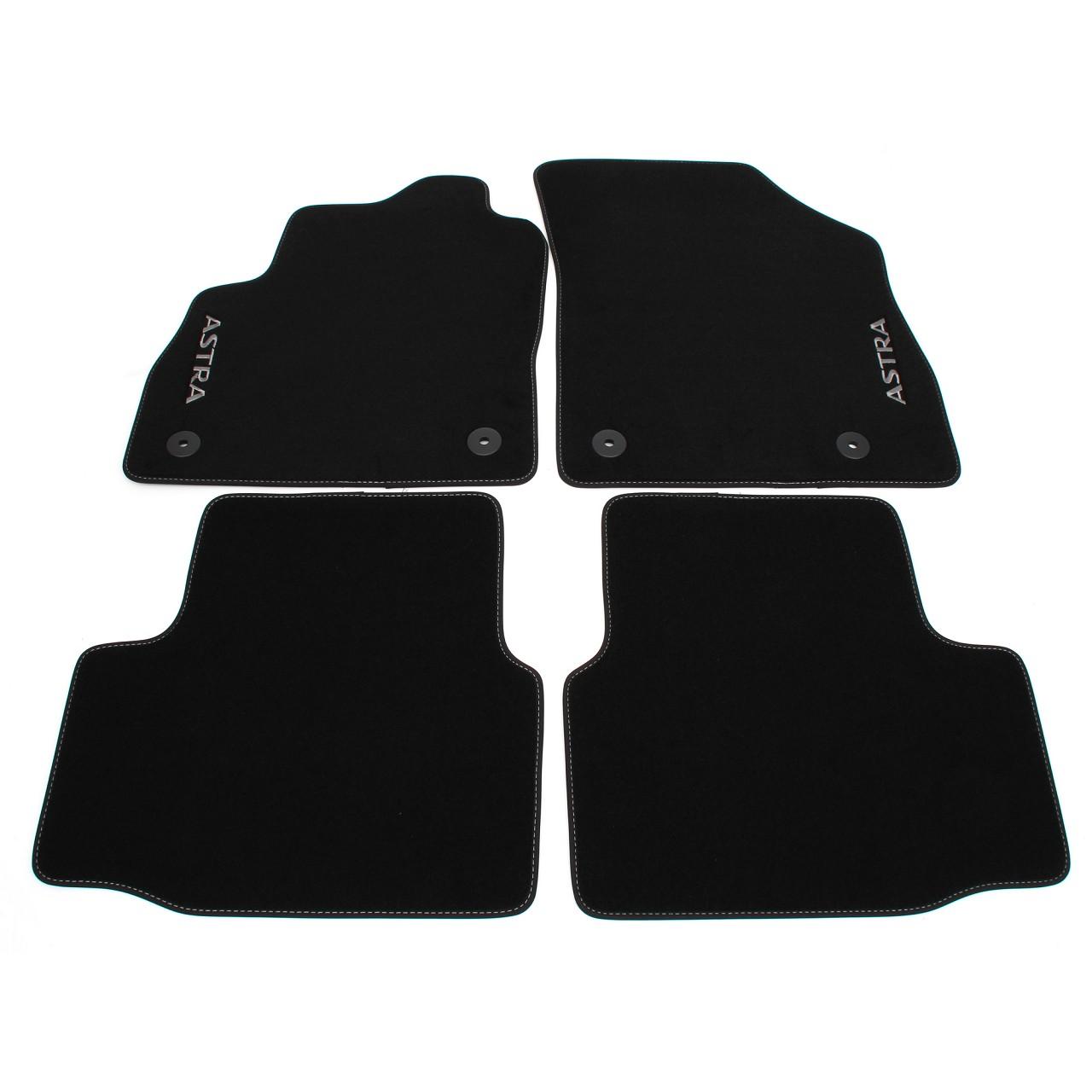 ORIGINAL GM Opel Textilmatten Fußmatten Automatten Satz ASTRA K 4-tlg 39056505