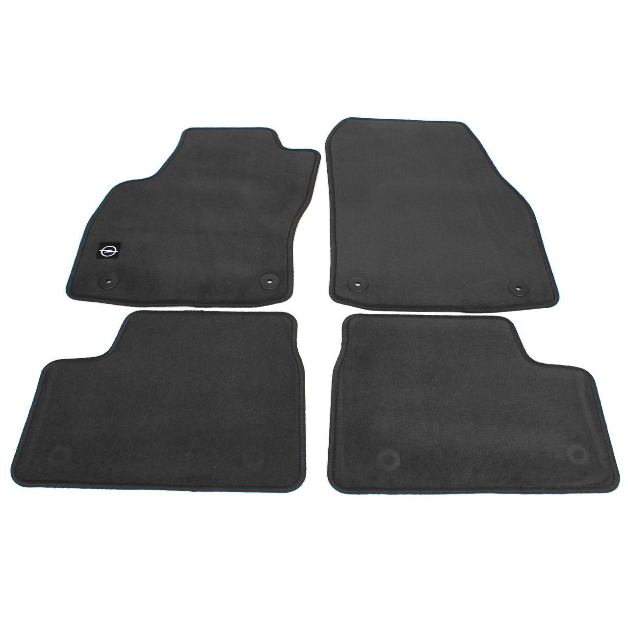 ORIGINAL GM Opel Textilmatten Fußmatten Automatten Satz ASTRA H 4-tlg 1723056