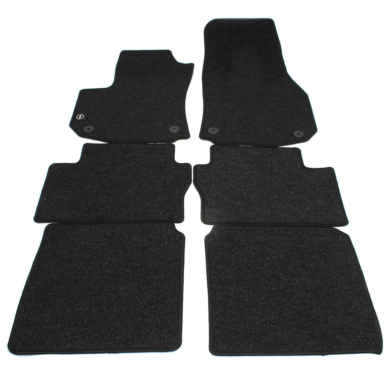 ORIGINAL Opel Textilmatten Fußmatten Automatten Satz Zafira B 6-tlg 1724056