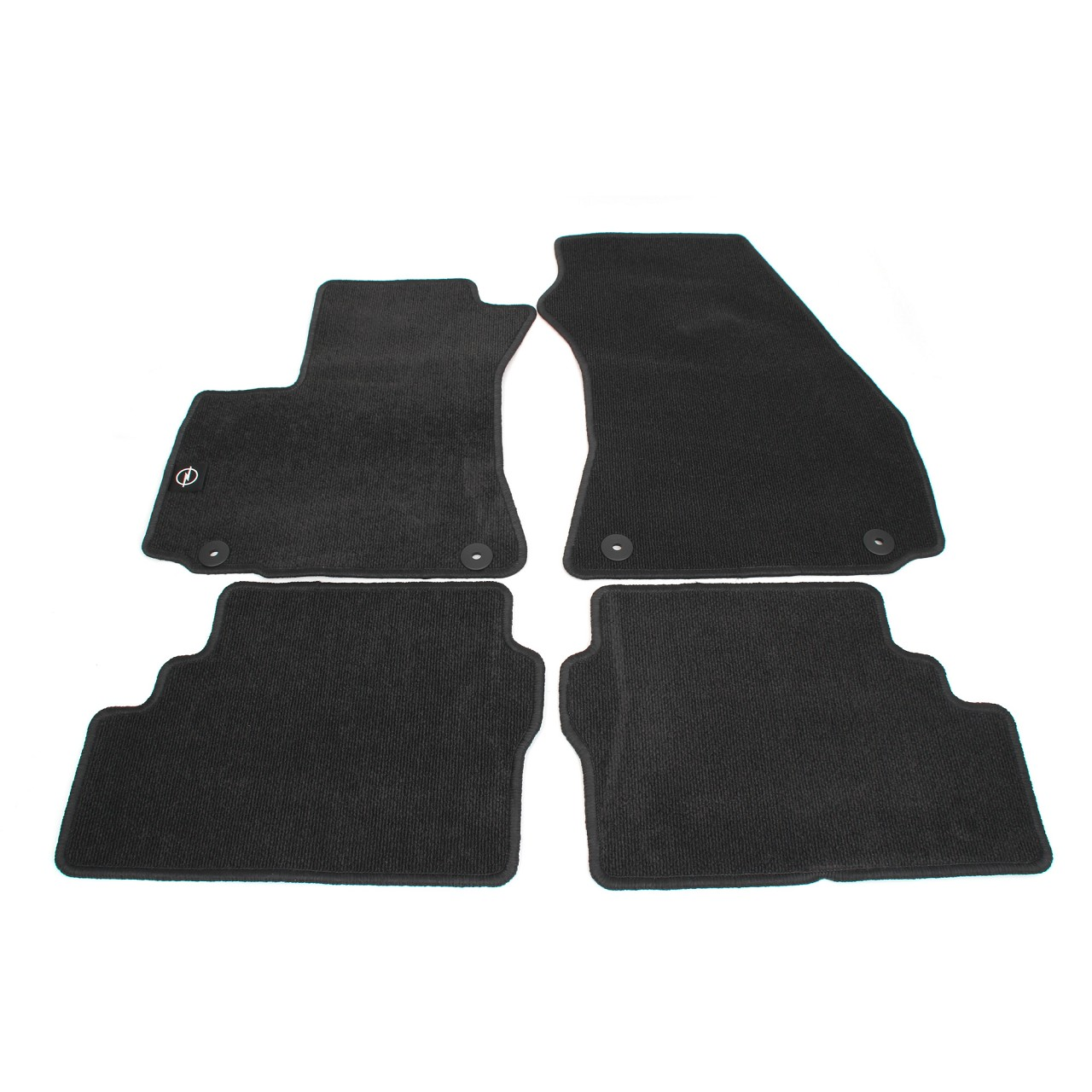 ORIGINAL Opel Textilmatten Fußmatten Automatten Fine-Rip Satz ZAFIRA A 93179560