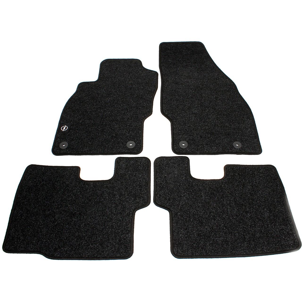 ORIGINAL Opel Textilmatten Fußmatten Automatten Satz Corsa D 4-tlg 1724784