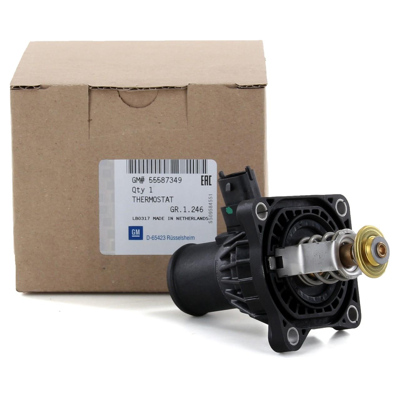 ORIGINAL GM Opel Thermostat + Gehäuse Astra J Insignia Mokka Zafira C 1338372