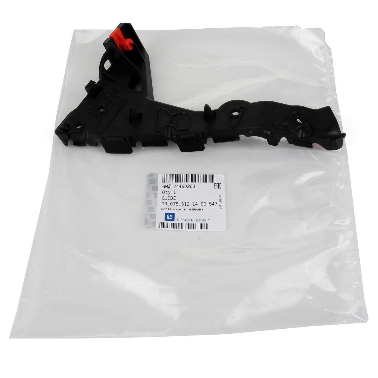 ORIGINAL Opel Führungsschiene Stoßstangenhalter ASTRA H links 24460283