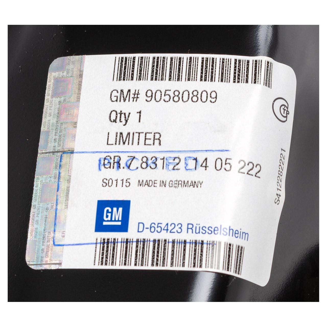 ORIGINAL Opel Aufprallschutz Stoßfänger ASTRA G ZAFIRA A hinten 90580809