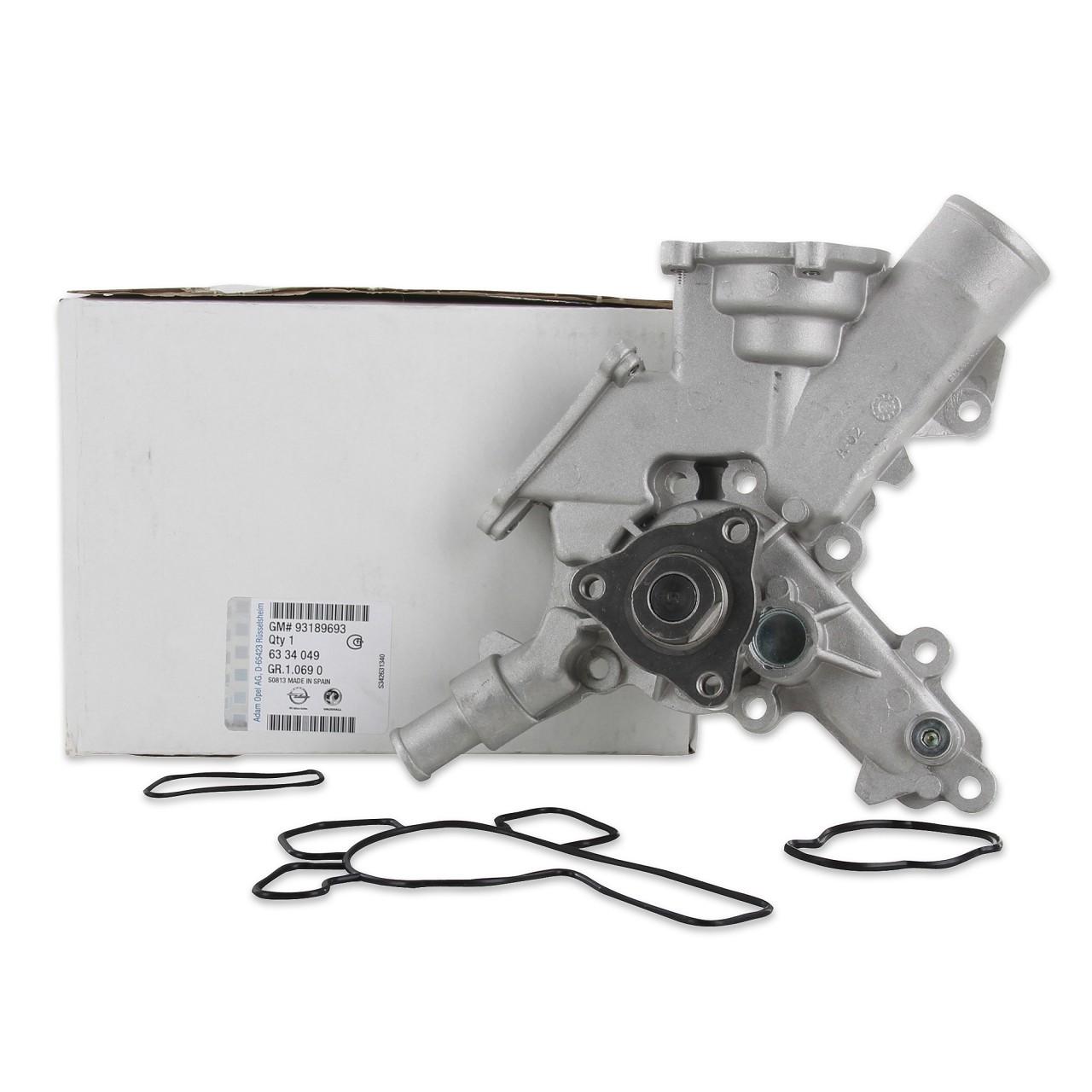 ORIGINAL GM Opel Wasserpumpe inkl. Dichtungen Z10XE/XEP Z12XE/XEP 6334049