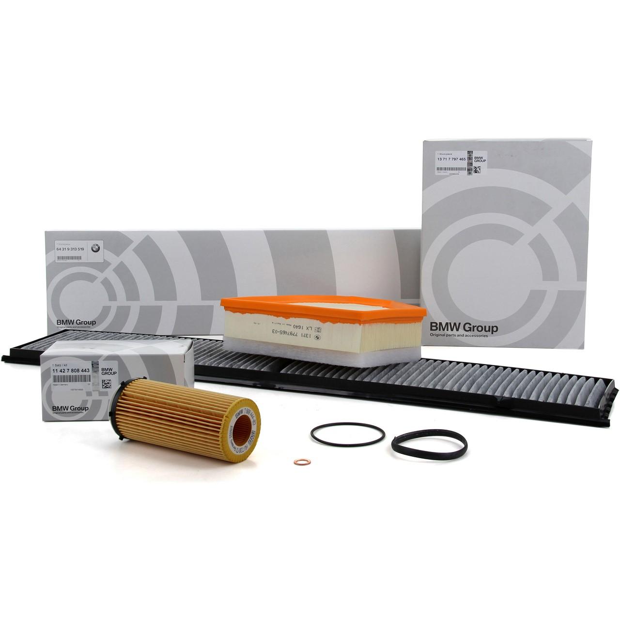 ORIGINAL BMW Inspektionskit Filterpaket 3er E90 E91 E92 E93 325d 330d 204/245 PS