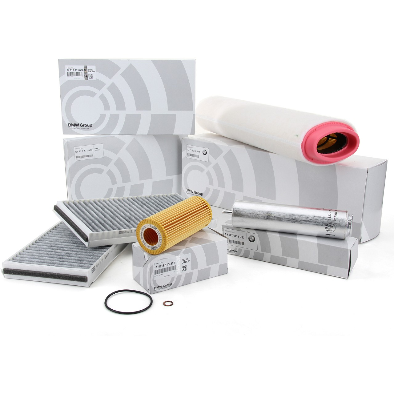 ORIGINAL BMW Inspektionskit Filterpaket Filterset E60 E61 525d 530d 163-235 PS