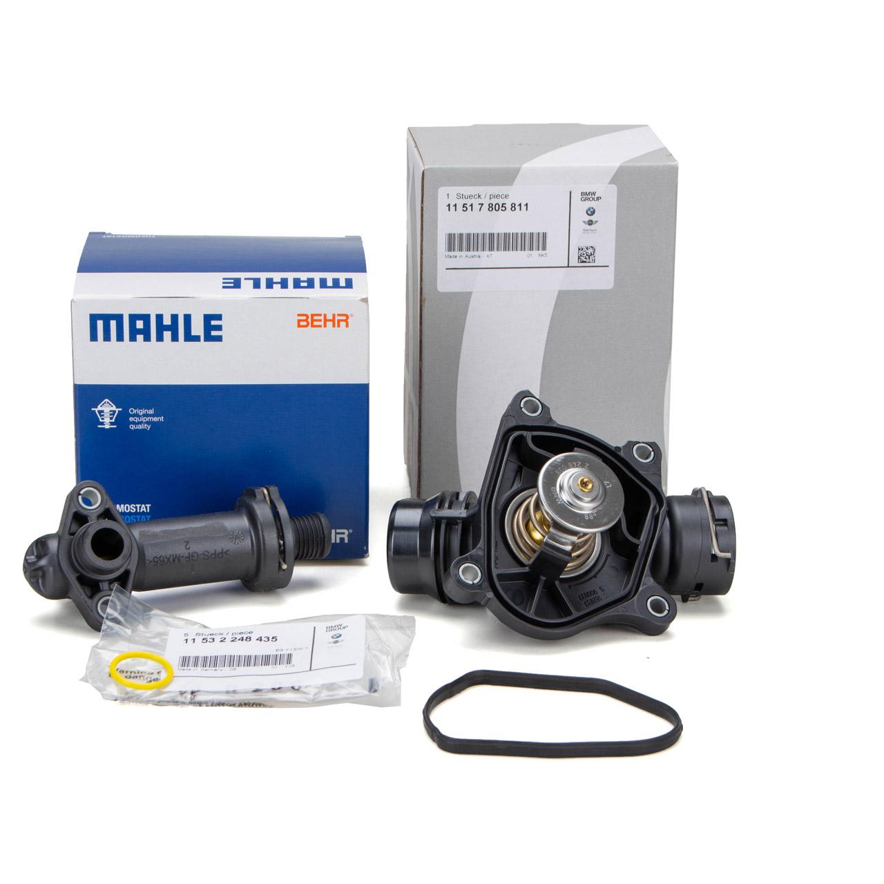 ORIGINAL BMW + BEHR AGR Thermostat + Dichtung E87 E46 E90-E92 E60 E61 M47 M57